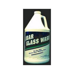 Theochem Laboratories Bar Glass Wash 1 Gallon Each