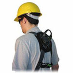 Miller Fall Protection Heavy-Duty Welder Harnesses, Back & Side D-Rings, Universal