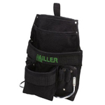 Miller Fall Protection Large Multi Pouch Tool Bag w/2 Steel Hammer Loop