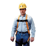 Miller Fall Protection Full Body Harness w/Sliding Back D Ring
