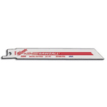 Milwaukee Electric Tools Super Sawzall Blade 18 Teeth per Inch 6 in. Length