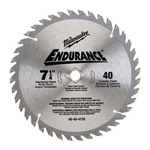"Milwaukee Electric Tools 7-1/2"" Finish Trim Blade"