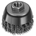 "Milwaukee Electric Tools 4"" Knot Wire Brush"