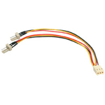 Startech TX3 Fan Power Splitter Cable - Fan Power Splitter - 6 In