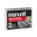 Maxell HS-4/125s - DDS-3 - 12 GB / 24 GB - Storage Media