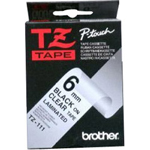 "Brother Laminated Tape - Roll (0.23"" x 26.3')"