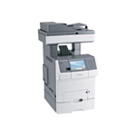 Lexmark X 738DTE Color Multifunction Laser Printer (Fax/Copier/ Printer/ Scanner)