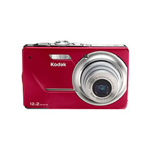 Eastman Kodak Film EASYSHARE M341 Digital Camera - Red