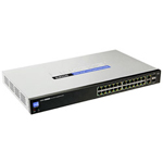 Cisco Small Business Smart Switch SLM224G 24 Port Switch