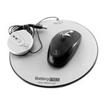 Cables Unlimited A4Tech Eco-Friendly Battery-Free USB Wireless Optical Mouse - mouse