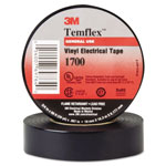 "Scotch Temflex 1700 Vinyl Electrical Tape, 3/4"" x 60ft"