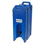 Cambro 500LCD186 Camtainer 4.75 Gallon Camtainer Insulated Beverage Dispenser, Navy Blue