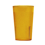 Cambro 5 Oz Plastic Tumblers, Yellow, Pack of 72