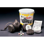 Moldex Medium Paint Spray/pesticide Kit w/Paint
