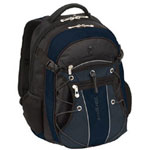 "Targus TSB07501US 15.4"" League Notebook Carrying Backpack, Black, Navy"