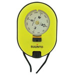 Suunto Vista Compass, Yellow Plastic Body