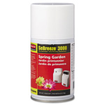Rubbermaid-Sebreeze® Aerosol SeBreeze 9000 Series Air Freshener Refill, Spring Garden, Case of 12