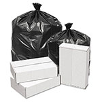 Penny Lane Linear Low Density Can Liners, .62 Mil, 43 x 47, Black, 100/Carton