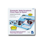 "Epson PremierArt Matte Scrapbook Photo Paper - Matte Photo Paper - 12"" x 12"" - 205 G/m2 - 10 Sheet(s)"
