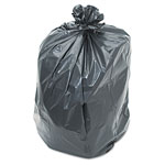 "Penny Lane Low Density Black Trash Bags, 1.2 Mil, 38"" X 58"", 10 Packs of 10"