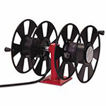 Reelcraft 250 AMP Arc Weld, Dual Weld, Side-by-Side without Cable Hose Reel, 150-200 ft