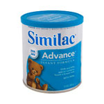 Similac® Advanced with Iron Powder, Retail 12.9 Oz Can