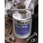 Never-Seez 8oz. Brush Top Blue Moly lubricant 141780
