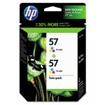 HP 57 Cyan/Magenta/Yellow Ink Cartridge ,Model C9320FN140 ,Page Yield 400