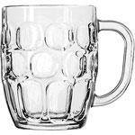 Libbey Dimple Beer Stein, 19.25 Oz