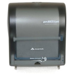 enMotion 59462 Wall Mount Automated Touchless Towel Dispenser, Translucent Smoke