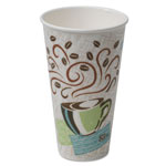 Dixie Hot Cups, Paper, 20oz, Coffee Dreams Design, 25/Pack