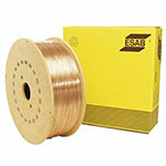 ESAB Welding Solid Wire - SPOOLARC 65 Welding Wires, .035 in Dia., 44 lb Spool