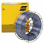 ESAB Welding Solid Wire - Aristorod 12.50 Welding Wires, .035 in Dia., 40 lb Wire Basket