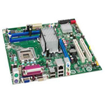 Intel Desktop Board DB43LD - motherboard - micro ATX - iB43