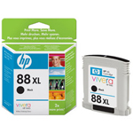 HP C9396AN#140 No. 88 Black Inkjet Cartridge, 2,350 Pages