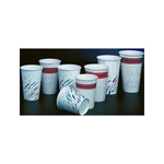Fonda Group 24 oz. Paper Cold Cups Rave Design