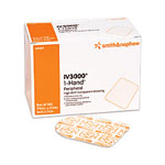 "Smith & Nephew IV3000, 4"" x 5 1/ 2"" Tape Handles Transparent Adhesive Dressing, 50"