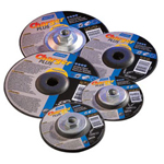"Norton 6x1/4"" x 5/8""-11 Type 27 Thin Wheel"
