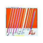Cardinal Products Red Slim Straws 5 1/2""