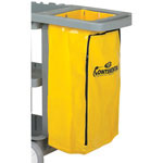 Continental Zippered Vinyl Bag for Janitor Carts