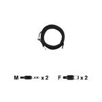 AXIS Axis Audio I/O Cable for AXIS P33 Series - camera extension / audio cable - 16.4 ft