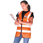 Occunomix OCCULUX SURVEYORS VEST:YELLOW