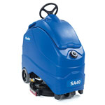 Clarke SA40 20D Disc Scrubber, 140 Ah AGM Maint-free Batteries, Onboard Charger, Pad Holder