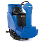 Clarke FOCUS® II 34 Disc Mid-size Rider Autoscrubber, 312 Ah Maint-free (AGM) Batteries, Onboard Charger, Pad Holder and Chemical Mixing System
