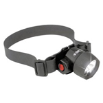Pelican Headsup 3 Led Headlightw/Cloth & Rubber Straps