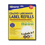 Memorex Labels - Matte White - 120 Pcs.