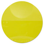 Rubbermaid Yellow Round Storage Container Lid