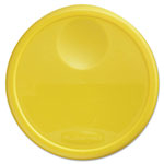 Rubbermaid Round Storage Container Lid, Yellow