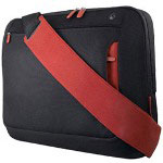 "Belkin F8N051-BR Messenger Bag For Notebooks Up To 17"" - Notebook Carrying Case - Jet, Cabernet"