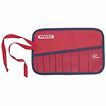 Proto 10-Pocket Tool Roll, Canvas, Red